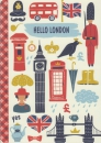 Notizheft A5 - Hello London